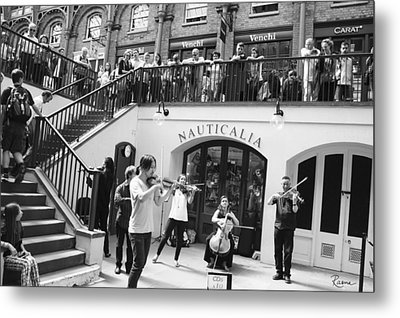 Covent Garden Music Metal Print