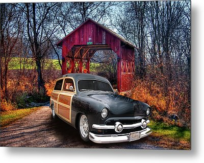 Covered Metal Print by Bill Dutting