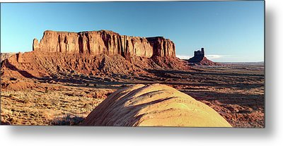 Cowboy Days Of The West Metal Print by Paul Cannon