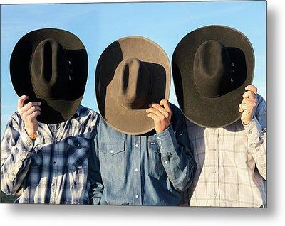 Cowboys Anonymous Metal Print by Todd Klassy