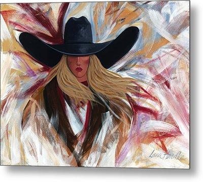 Cowgirl Colors Metal Print by Lance Headlee