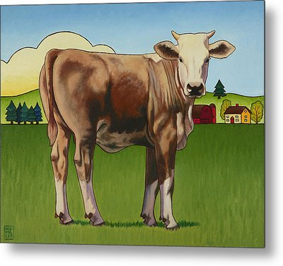Cowgirl Metal Print by Stacey Neumiller