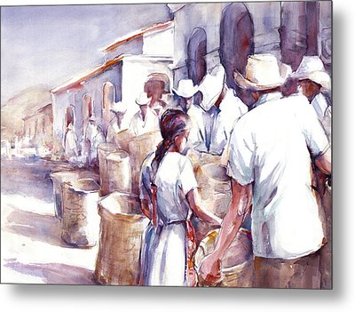 Coyotepec Metal Print by Joan  Jones