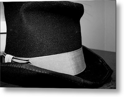 Coy's Hat Metal Print by Gina  Zhidov