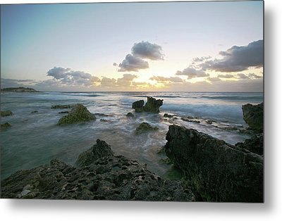 Cozumel Sunrise Metal Print