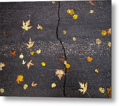 Crack 2 Metal Print by Lyle Crump