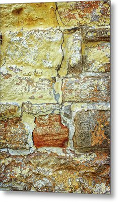 Cracked Metal Print