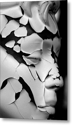 Cracked Up Metal Print by Jez C Self
