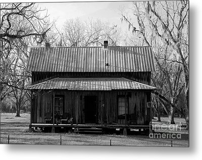 Cracker Cabin Metal Print by David Lee Thompson