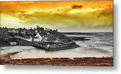 Crail Harbour Metal Print by Jeremy Lavender Photography