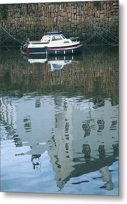 Crail Reflections II Metal Print