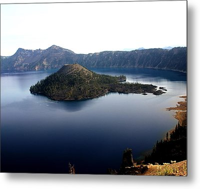 Crater Lake 2 Metal Print by Marty Koch