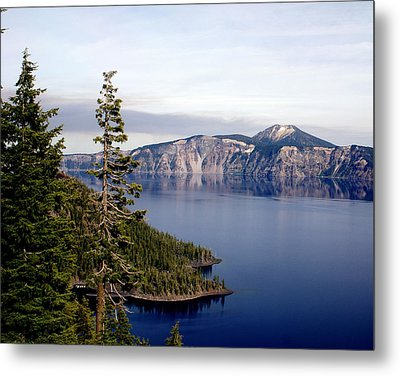 Crater Lake 3 Metal Print by Marty Koch