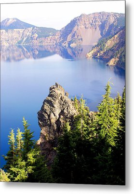 Crater Lake 4 Metal Print by Marty Koch