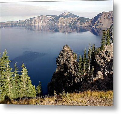 Crater Lake 7 Metal Print by Marty Koch