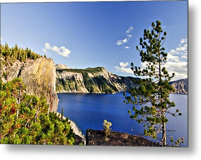 Crater Lake II Metal Print by Albert Seger