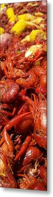 Crawfish Boil Bayou St John Nawlins Metal Print by Sean Gautreaux