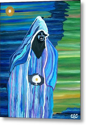 Metal Print featuring the painting Creation by Carolyn Cable