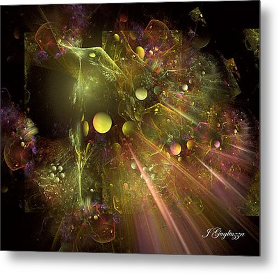 Creation Metal Print by Jean Gugliuzza