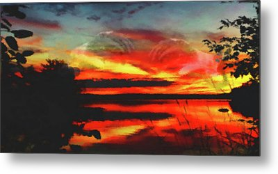Creation Metal Print by Mike Breau