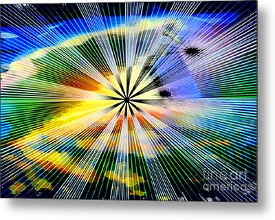 Creation's Instrument Metal Print by Rebecca Phillips