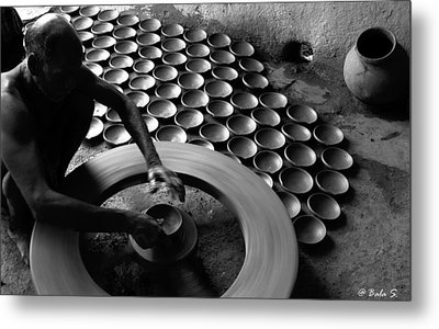 Creative Hands Metal Print by Balasubramanyam TR
