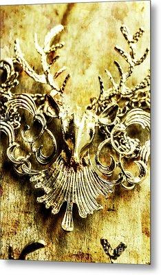 Creature Treasures Metal Print