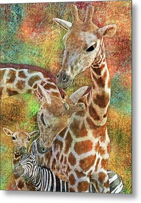 Creatures Great And Small Metal Print
