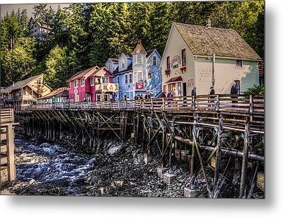 Creek Street  Metal Print by Robin Williams