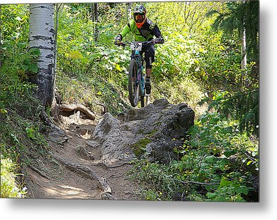 Creekside Rock #59 Metal Print by Matt Helm