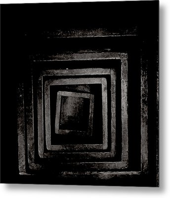 Creepy Old Stuff - Chinese Boxes Metal Print by Marco Oliveira