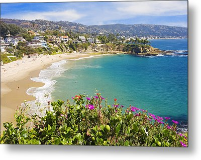 Crescent Bay Laguna Beach California Metal Print by Utah Images