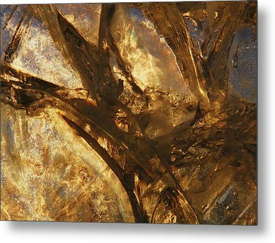 Metal Print featuring the photograph Crevasses by Sami Tiainen