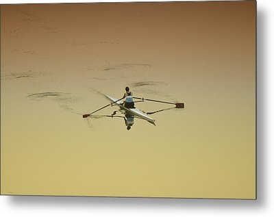 Crew Metal Print by Bill Cannon