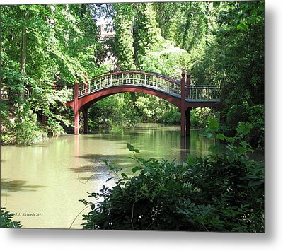Crim Dell Bridge Iv Metal Print