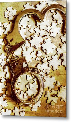 Criminal Affair Metal Print by Jorgo Photography - Wall Art Gallery