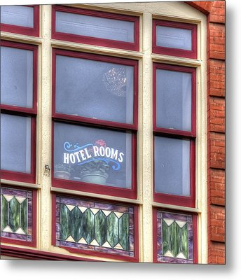 Cripple Creek Hotel Rooms 7880 Metal Print by Jerry Sodorff