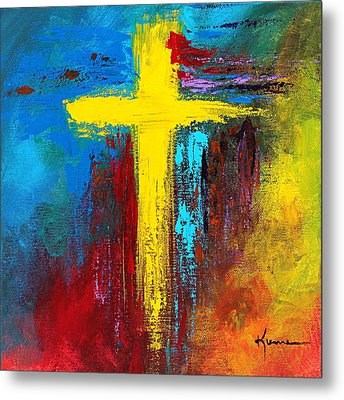 Cross 2 Metal Print