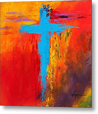 Cross 3 Metal Print