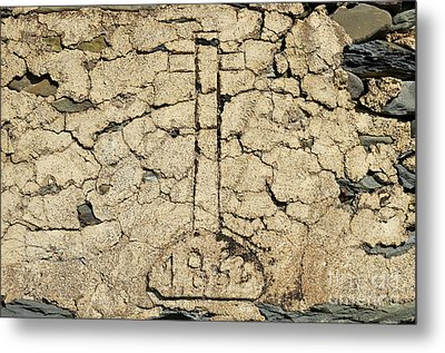 Cross From 1862. Home Protection Metal Print by Angelo DeVal