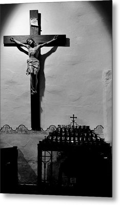 Cross Mission San Diego De Alcala Metal Print