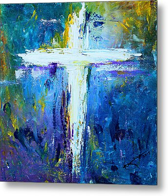 Cross - Painting #4 Metal Print