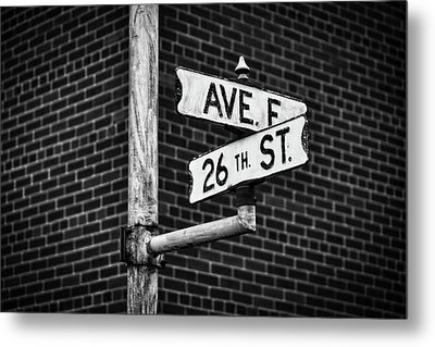 Cross Roads Metal Print by Darren White