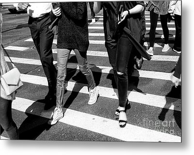 Metal Print featuring the photograph Crossings 234 by John Rizzuto