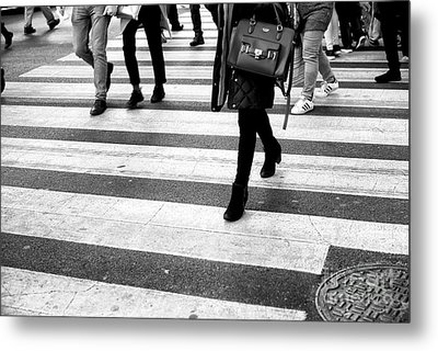 Metal Print featuring the photograph Crossings 237 by John Rizzuto