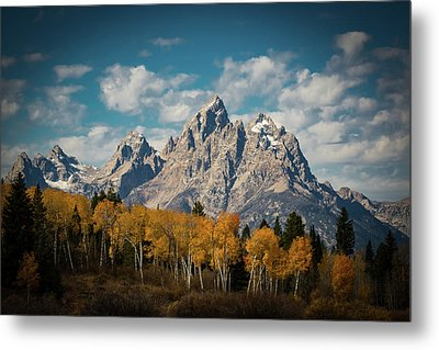 Crown For Tetons Metal Print by Edgars Erglis