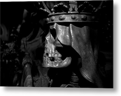 Crowned Death II Metal Print