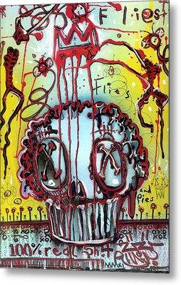 Crowning A Muffyn Metal Print by Robert Wolverton Jr
