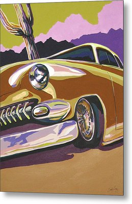 Cruisin Metal Print by Sandy Tracey