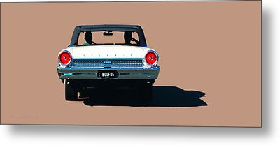 Cruisin' Metal Print by Susan Vineyard